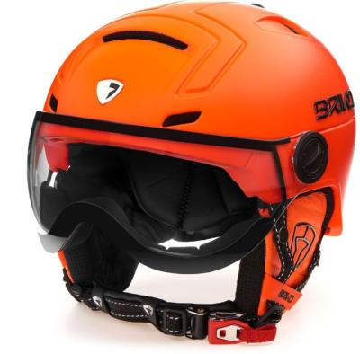 CASQUE BRIKO STROMBOLI VISOR ORANGE  PHOTOCHROMIQUE T60